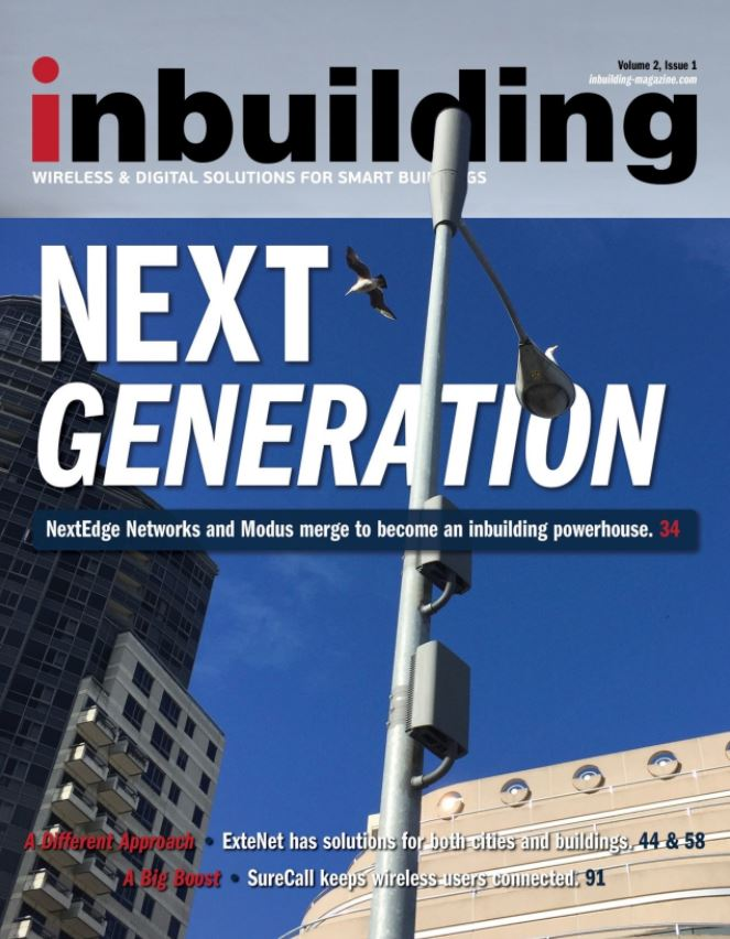 Inbuilding Magazine Second Issue Cover