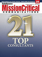 Mission Critical Communications 21 Top Consultants