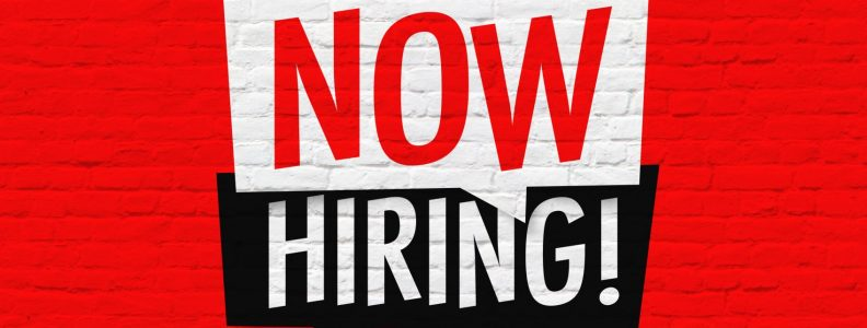 Now hiring! Positions Available at V-COMM