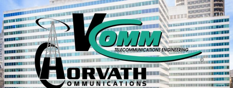 V-COMM and Horvath Communications Partner Logo Two Penn Center Philadelphia